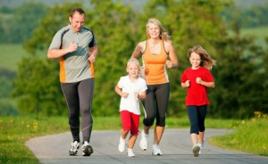 Family-jogging
